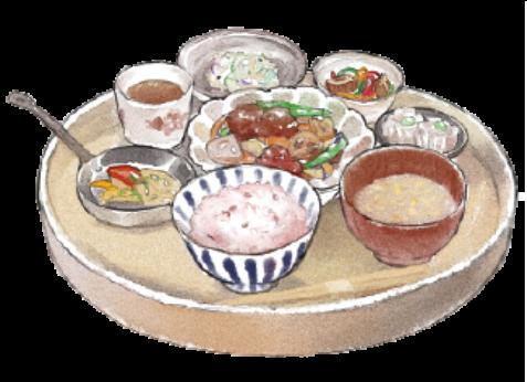 三津カフェ季節のごはんプレート