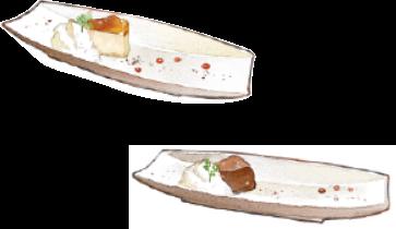 濃厚チーズケーキ/ブラウニー